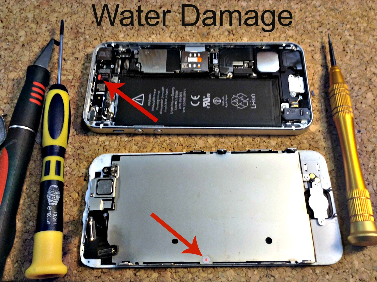 How to fix a water damage iPhone