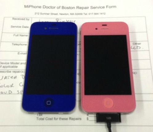 iPhone 4 & 4S Color Conversion