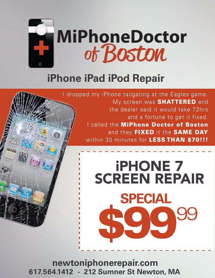 Coupon iphone screen repair